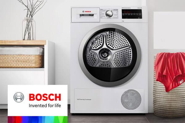ایرادات متداول در ماشین لباسشویی بوش